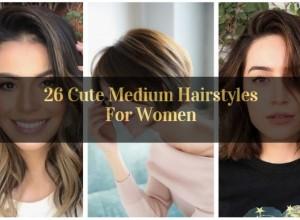 Cute Medium Hairstyles For Women